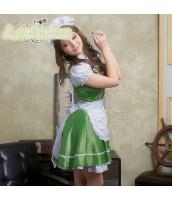 メイド ウェイトレス コスチューム コスプレ ハロウィン 仮装 衣装 4点セット bwn1049-2