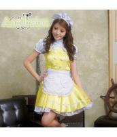メイド ウェイトレス コスチューム コスプレ ハロウィン 仮装 衣装 4点セット bwn1049-4