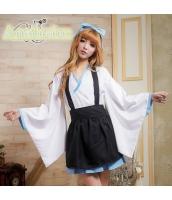 ハロウィン 巫女 コスチューム コスプレ 仮装 衣装 4点セット Sサイズ bwn1053-1
