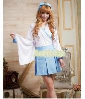 ハロウィン 巫女 コスチューム コスプレ 仮装 衣装 4点セット XLサイズ bwn1053-7