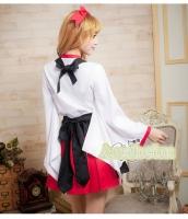 ハロウィン 巫女 コスチューム コスプレ 仮装 衣装 4点セット Mサイズ bwn1053-4