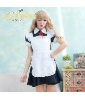 メイド ウェイトレス コスチューム コスプレ ハロウィン 仮装 衣装 4点セット bwn1057-1
