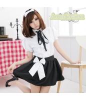 メイド ウェイトレス コスチューム コスプレ ハロウィン 仮装 衣装 4点セット Sサイズ bwn1062-1