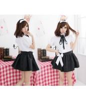メイド ウェイトレス コスチューム コスプレ ハロウィン 仮装 衣装 4点セット Mサイズ bwn1062-2