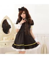 メイド ウェイトレス コスチューム コスプレ ハロウィン 仮装 衣装 7点セット Sサイズ bwn1064-1