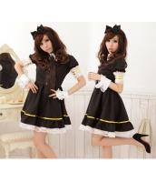 メイド ウェイトレス コスチューム コスプレ ハロウィン 仮装 衣装 7点セット Mサイズ bwn1064-2