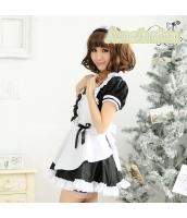メイド ウェイトレス コスチューム コスプレ ハロウィン 仮装 衣装 3点セット bwn1068-3
