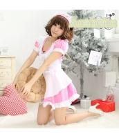 メイド ウェイトレス コスチューム コスプレ ハロウィン 仮装 衣装 3点セット bwn1068-4
