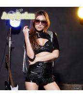ダンス・ステージ衣装 コスチューム コスプレ ハロウィン 仮装 ポールダンサー衣装 3点セット 全套M码サイズ bwn1073-1