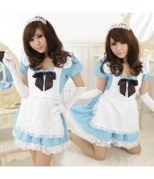 メイド ウェイトレス コスチューム コスプレ ハロウィン 仮装 衣装 5点セット bwn1074-1