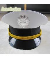 警官 婦警 ポリス 警察 コスプレアイテム・小道具 キャップ 帽子 コスチューム ハロウィン 仮装 衣装 bwn1080-1