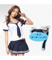 コスチューム コスプレ ハロウィン 仮装 衣装 女子高生制服 セーラー服 4点セット bwn1081-1