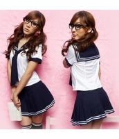 コスチューム コスプレ ハロウィン 仮装 衣装 女子高生制服 セーラー服 3点セット bwn1081-3