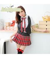 女子高生制服 コスチューム コスプレ ハロウィン 仮装 衣装 4点セット Mサイズ bwn1082-1