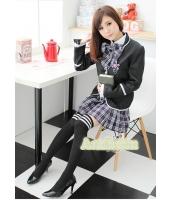 女子高生制服 コスチューム コスプレ ハロウィン 仮装 衣装 Lサイズ 4点セット bwn1085-3