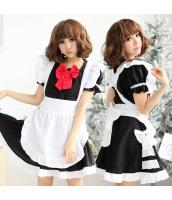 メイド ウェイトレス コスチューム コスプレ ハロウィン 仮装 衣装 3点セット bwn1095-1