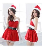 クリスマス レディースサンタクロース コスチューム コスプレ 仮装 衣装 3点セット bwn1103-1