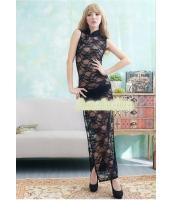 セクシーランジェリー ベビードール コスチューム コスプレ ハロウィン 仮装 衣装 透け透けチャイナードレス 2点セット Lサイズ bwn1107-2