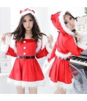 クリスマス レディースサンタクロース コスチューム コスプレ 仮装 衣装 3点セット bwn1108-1