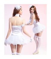 メイド ウェイトレス コスチューム コスプレ ハロウィン 仮装 衣装 5点セット bwn1119-2