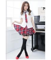 女子高生制服 コスチューム コスプレ ハロウィン 仮装 衣装 5点セット Lサイズ bwn1126-9