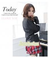 女子高生制服 コスチューム コスプレ ハロウィン 仮装 衣装 4点セット Mサイズ bwn1126-6