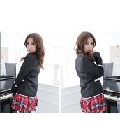 女子高生制服 コスチューム コスプレ ハロウィン 仮装 衣装 4点セット XLサイズ bwn1126-14