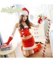 クリスマス レディースサンタクロース コスチューム コスプレ 仮装 衣装 7点セット bwn1130-1