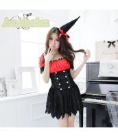ハロウィン 魔女 コスチューム コスプレ 仮装 衣装 ウィッチ 3点セット bwn1135-1