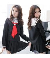 コスチューム コスプレ ハロウィン 仮装 衣装 女子高生制服 セーラー服 3点セット bwn1137-1