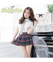 女子高生制服 コスチューム コスプレ ハロウィン 仮装 衣装 4点セット Mサイズ bwn1139-1
