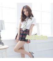女子高生制服 コスチューム コスプレ ハロウィン 仮装 衣装 4点セット XLサイズ bwn1139-3