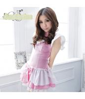 メイド ウェイトレス コスチューム コスプレ ハロウィン 仮装 衣装 3点セット bwn1155-1