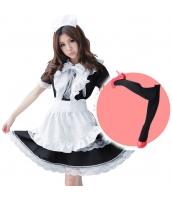 メイド ウェイトレス コスチューム コスプレ ハロウィン 仮装 衣装 5点セット Lサイズ bwn1166-5
