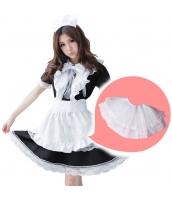 メイド ウェイトレス コスチューム コスプレ ハロウィン 仮装 衣装 5点セット Lサイズ bwn1166-9