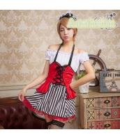 メイド ウェイトレス コスチューム コスプレ ハロウィン 仮装 衣装 3点セット bwn1178-1