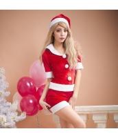 クリスマス レディースサンタクロース コスチューム コスプレ 仮装 衣装 3点セット bwn1211-2