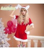 クリスマス レディースサンタクロース コスチューム コスプレ 仮装 衣装 3点セット bwn1216-1
