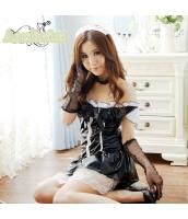 メイド ウェイトレス コスチューム コスプレ ハロウィン 仮装 衣装 6点セット bwn1220-1