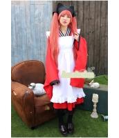 ハロウィン 巫女 コスチューム コスプレ 仮装 衣装 5点セット Mサイズ bwn1228-2