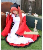 ハロウィン 巫女 コスチューム コスプレ 仮装 衣装 5点セット Lサイズ bwn1228-3