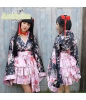 ハロウィン 巫女 コスチューム コスプレ 仮装 衣装 5点セット bwn1229-1