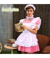 メイド ウェイトレス コスチューム コスプレ ハロウィン 仮装 衣装 4点セット bwn1232-5