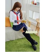 コスチューム コスプレ ハロウィン 仮装 衣装 女子高生制服 セーラー服 長袖3点セット XLサイズ bwn1238-6