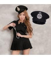 警官 婦警 ポリス 警察 制服 コスチューム コスプレ ハロウィン 仮装 衣装 3点セット Lサイズ bwn1243-7