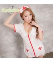 看護婦 ナース 制服 コスチューム コスプレ ハロウィン 仮装 衣装 2点セット bwn1246-1