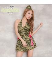 ミリタリー アーミー 軍人 女戦士 コスチューム コスプレ ハロウィン 仮装 衣装 2点セット bwn1248-1