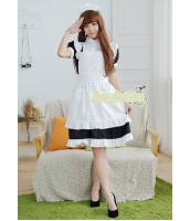 メイド ウェイトレス コスチューム コスプレ ハロウィン 仮装 衣装 3点セット Mサイズ bwn1259-5