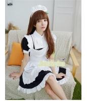 メイド ウェイトレス コスチューム コスプレ ハロウィン 仮装 衣装 3点セット XLサイズ bwn1259-13
