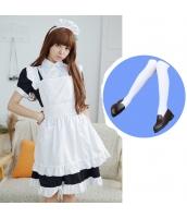 メイド ウェイトレス コスチューム コスプレ ハロウィン 仮装 衣装 4点セット Sサイズ bwn1259-3